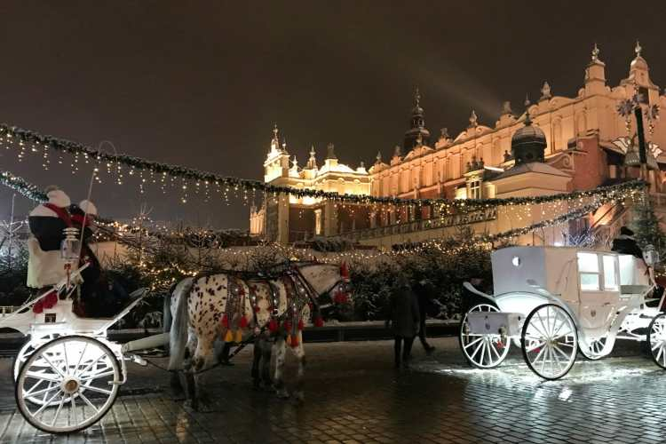 Winter In Krakow and Some Exciting News