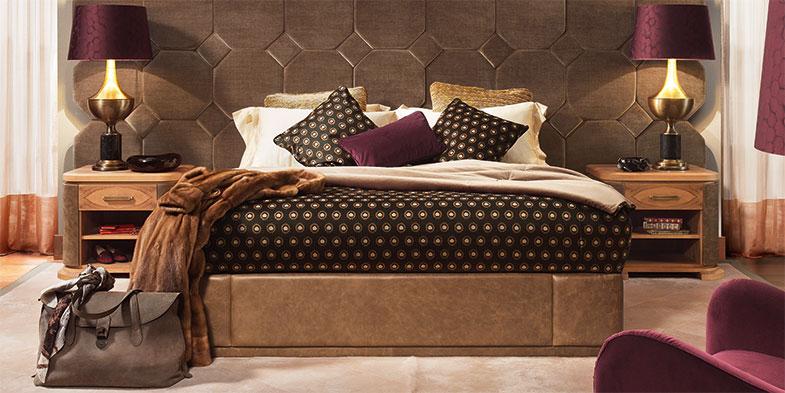 Il Mood proposto da Smania per la camera da letto di lusso Nettare dambrosia  Blog Smania