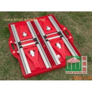 鋁合金摺枱椅-紅1