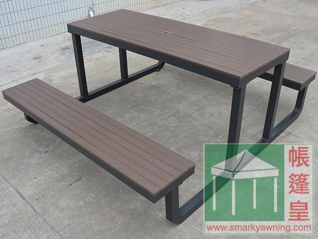 環保木桌椅組合-DEH-120
