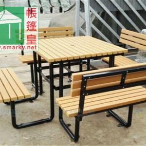 環保木桌椅組合 – OFS195
