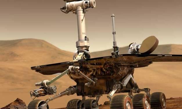 NASA's Curiosity gets Rockin'