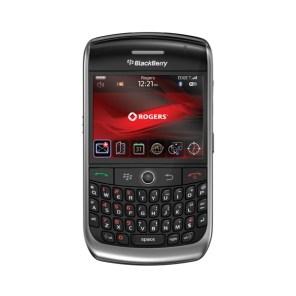 BlackBerry Curve 8900 otro frente