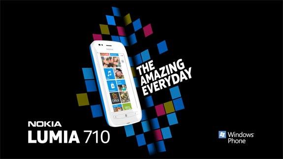 Lumia 710 publicidad