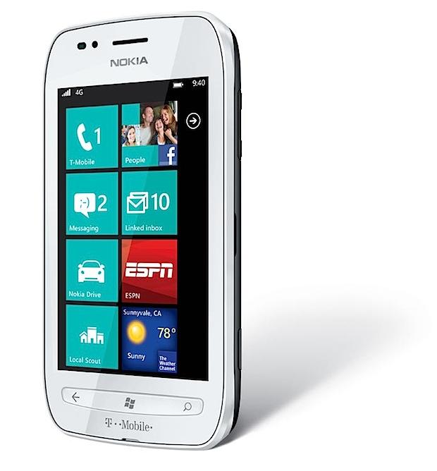 Lumia 710 blanco