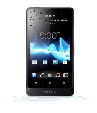 Xperia_go_Front_Black_Water_Effect