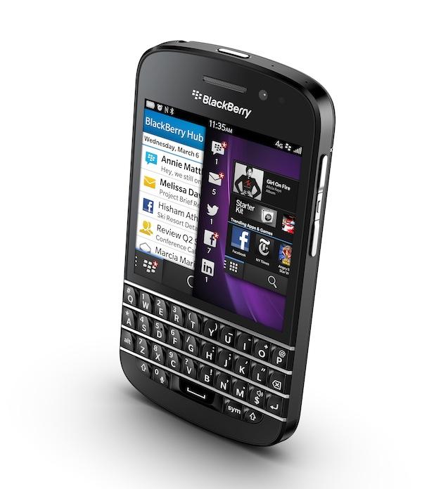 BlackBerry Q10 lanzamiento usa