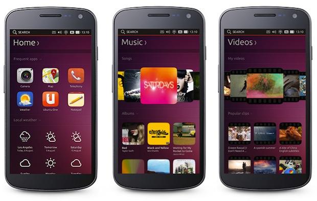 Ubuntu 13.10 smartphones
