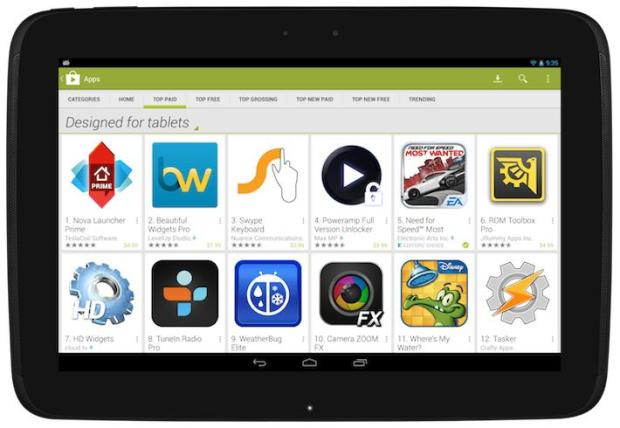 tablets Android® Google® Play