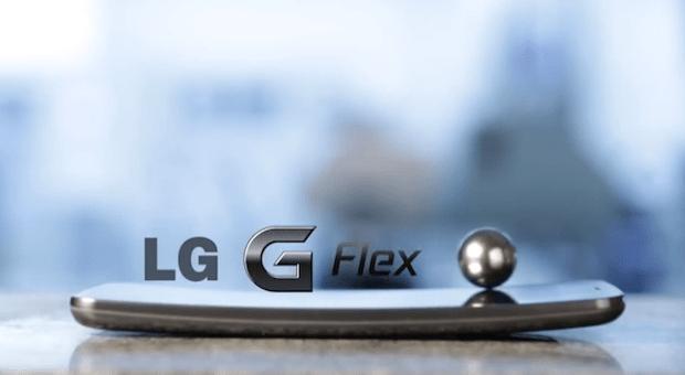 lg g flex self healing