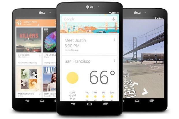 LG G Pad 8.3 Google® Play edition
