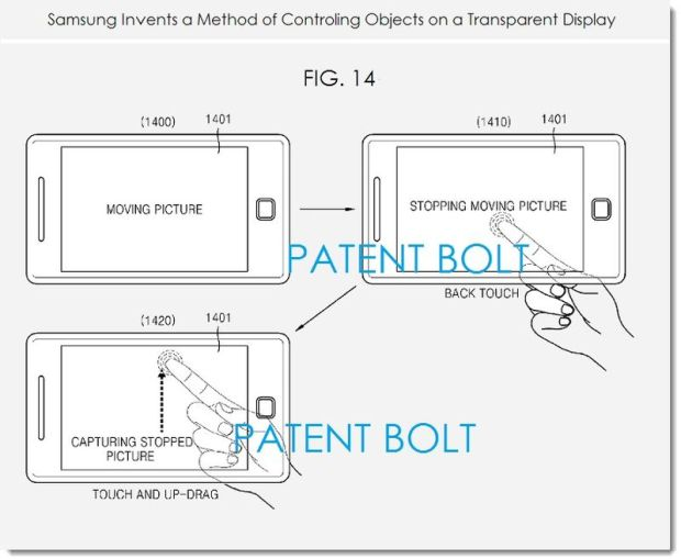 pantalla transparente Samsung
