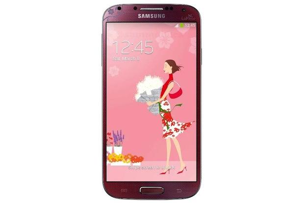 Samsung Galaxy S4 La Fleur rojo