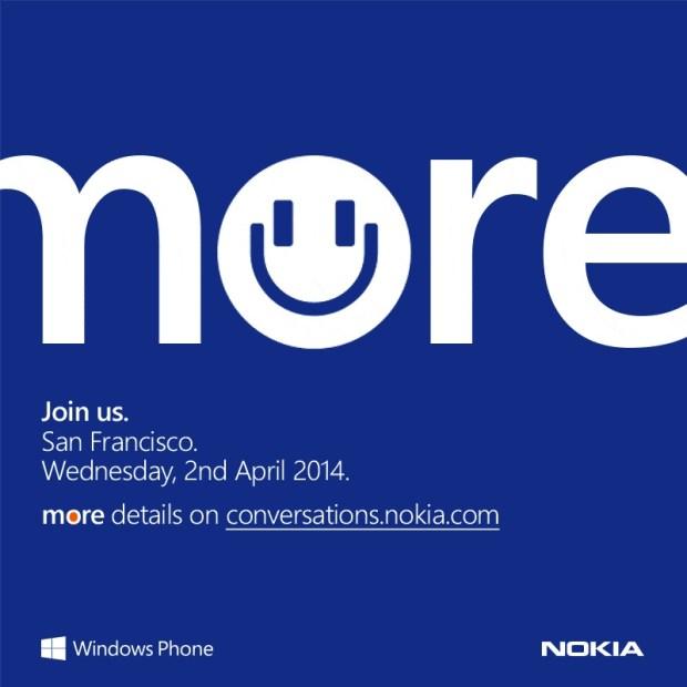 Nokia evento dos abril