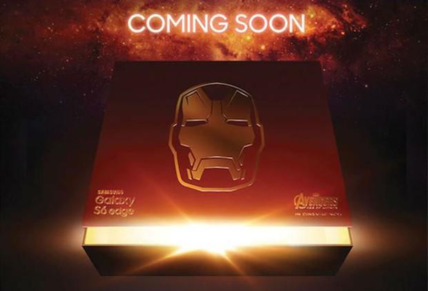 S6 Edge Iron Man