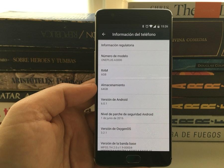 6GB de RAM en el OnePlus 3