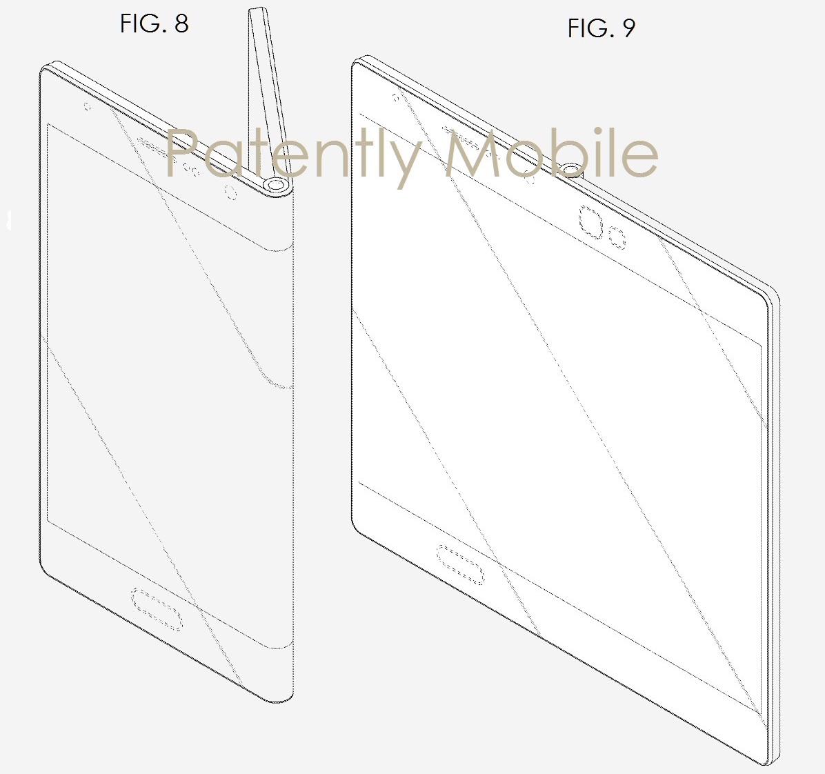 Nuevos planos del smartphone flexible de Samsung