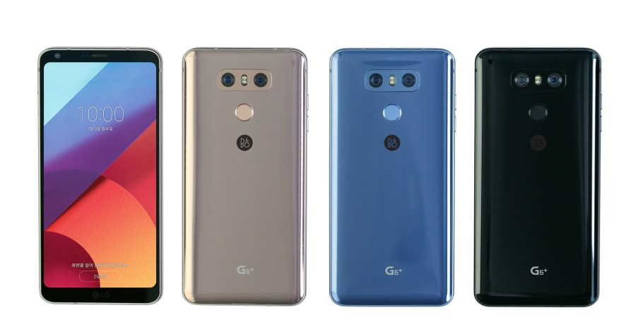 LG G6 Plus colores 3