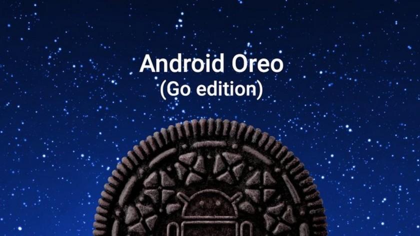 Render oficial del anuncio de Android Oreo (Go Edition).