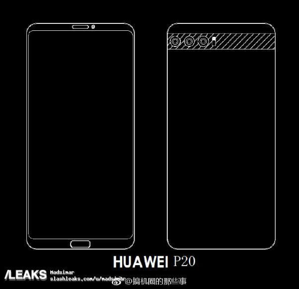 Huawei P20 sketch