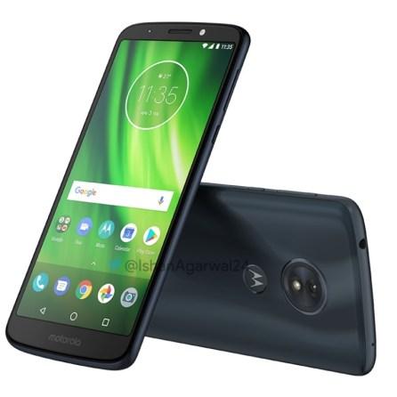 Motorola Moto G6 Play negro 3