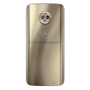 Motorola Moto G6 Plus dorado 3
