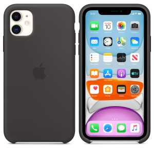 Husa de silicon originala Apple iPhone 11 Black