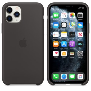 Husa de silicion originala Apple iPhone 11 Pro Black