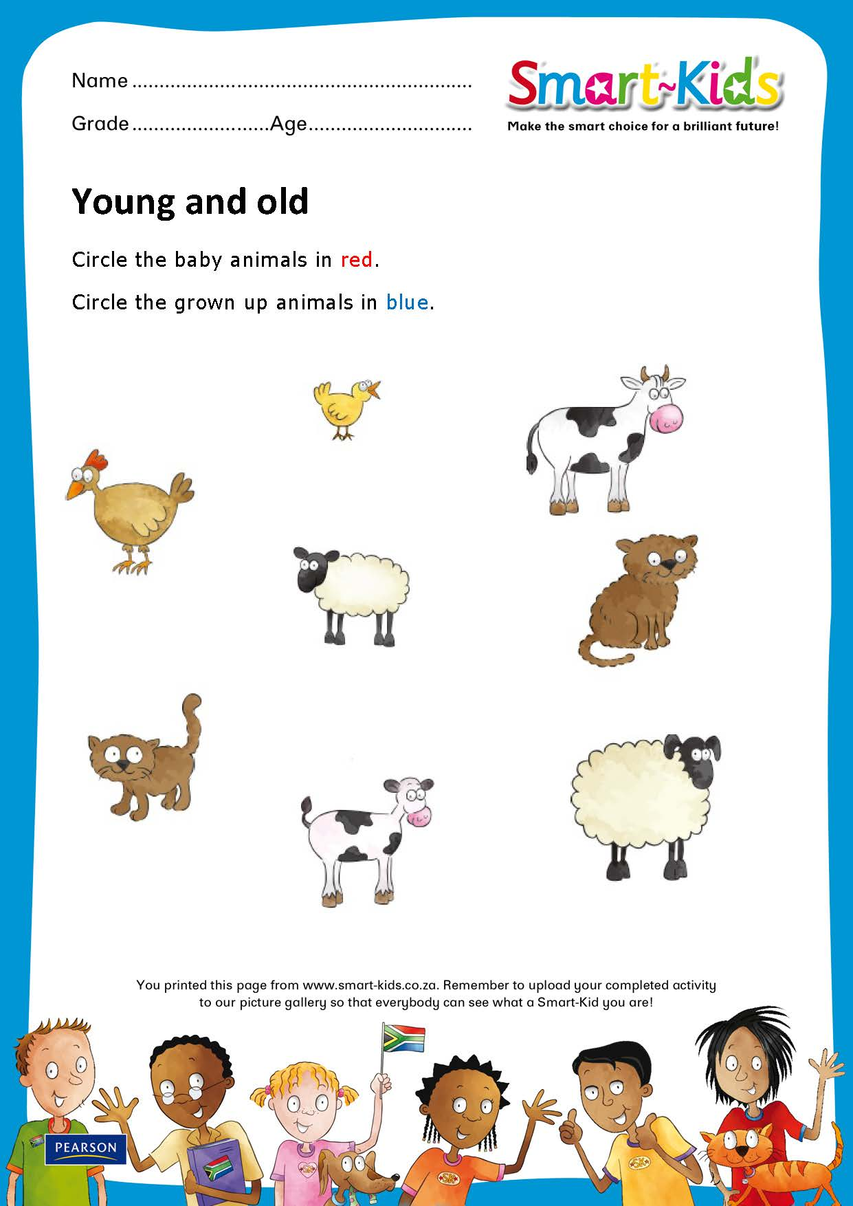 Sk Worksheet Young And Old