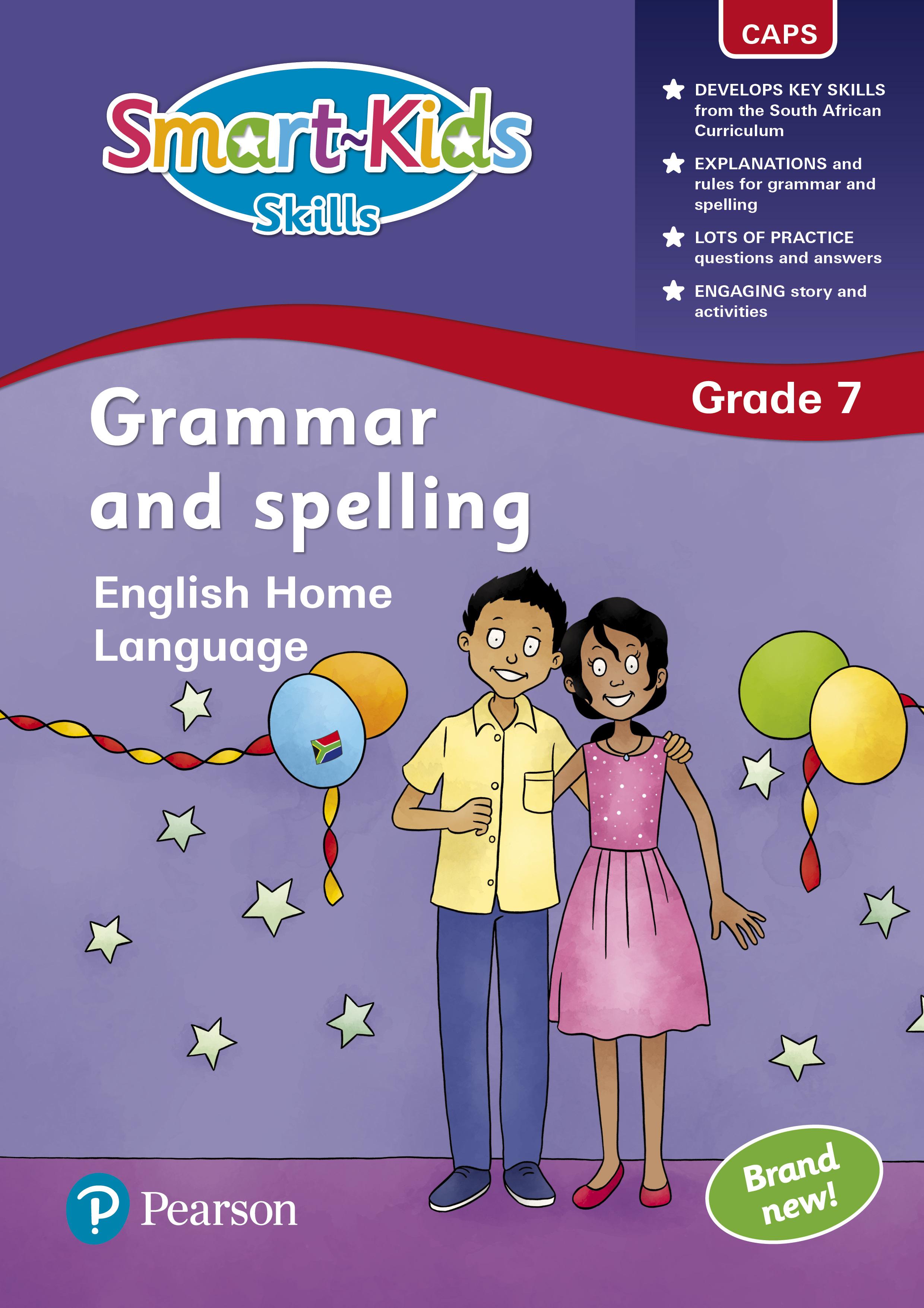 Smart Kids Skills Grammar And Spelling Grade 7