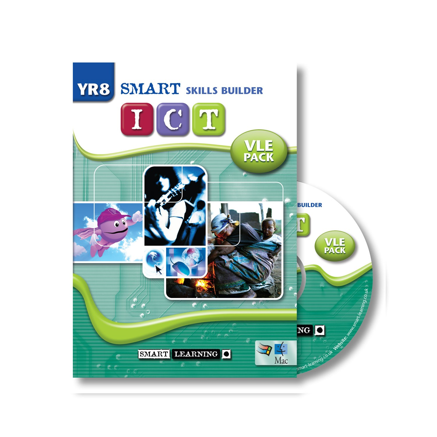 Smart Skills Builder Ict Y8 Ict Vle Pack