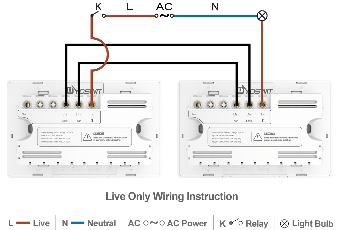 Smart 3 Way Switch