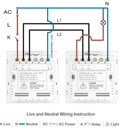option 4 connect two yoswit 3 way switches 3 wire with neutral wire  [ 1140 x 1035 Pixel ]