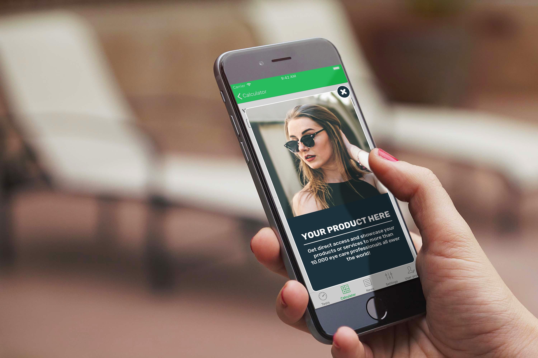 Smart Optometry Phone Interstitial Ads
