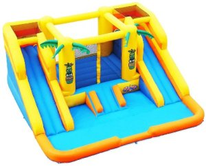 best residential bounce house water slides