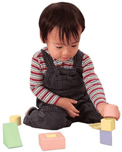 Natural blocks for kids