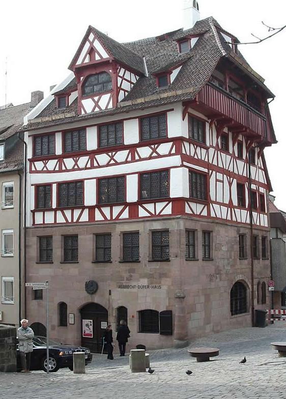 Albrecht Durer House  Built In The 15th Century