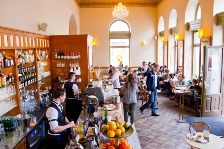 Café Savoy in Prag