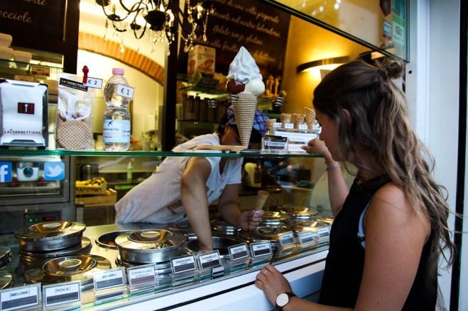 La Sorbettiera in Florenz