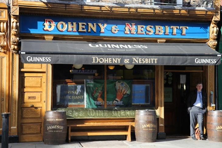 Doheny & Nesbitt in Dublin