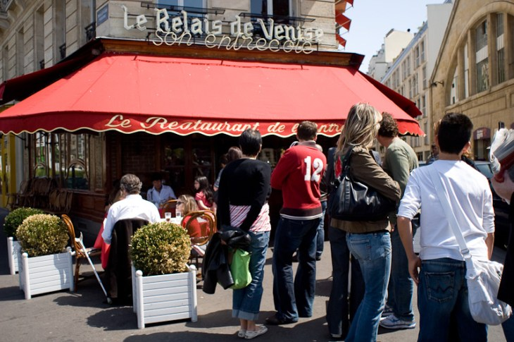 Le Relais de Venise in Paris