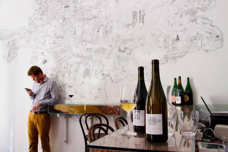 Veltlin Winebar in Prag