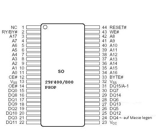 Smart 450 Temperaturfuhler Ausbauen