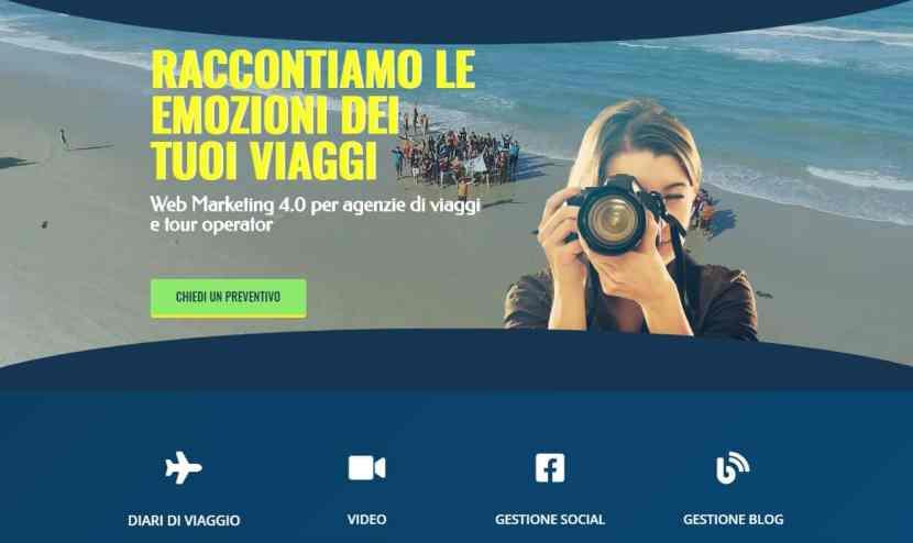diario di viaggio web marketing per agenzie viaggi e tour operator