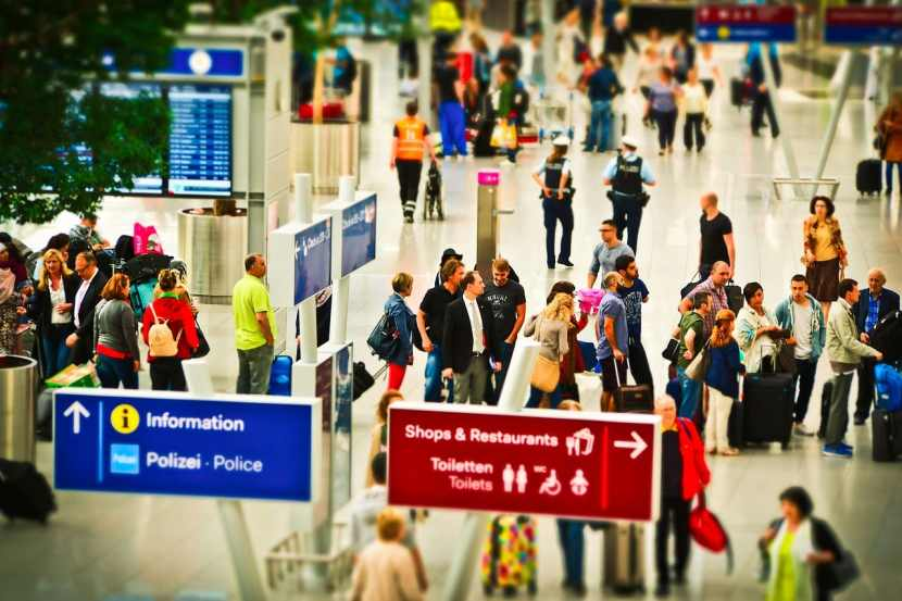 gestione clienti in situazione di emergenza aeroporto