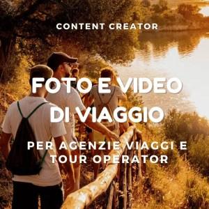 Content creator per imprese turistiche + marketing intelligente