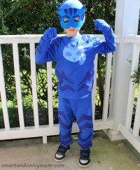 DIY PJ Masks, Catboy, No Sew Halloween Costume Victory Now ...