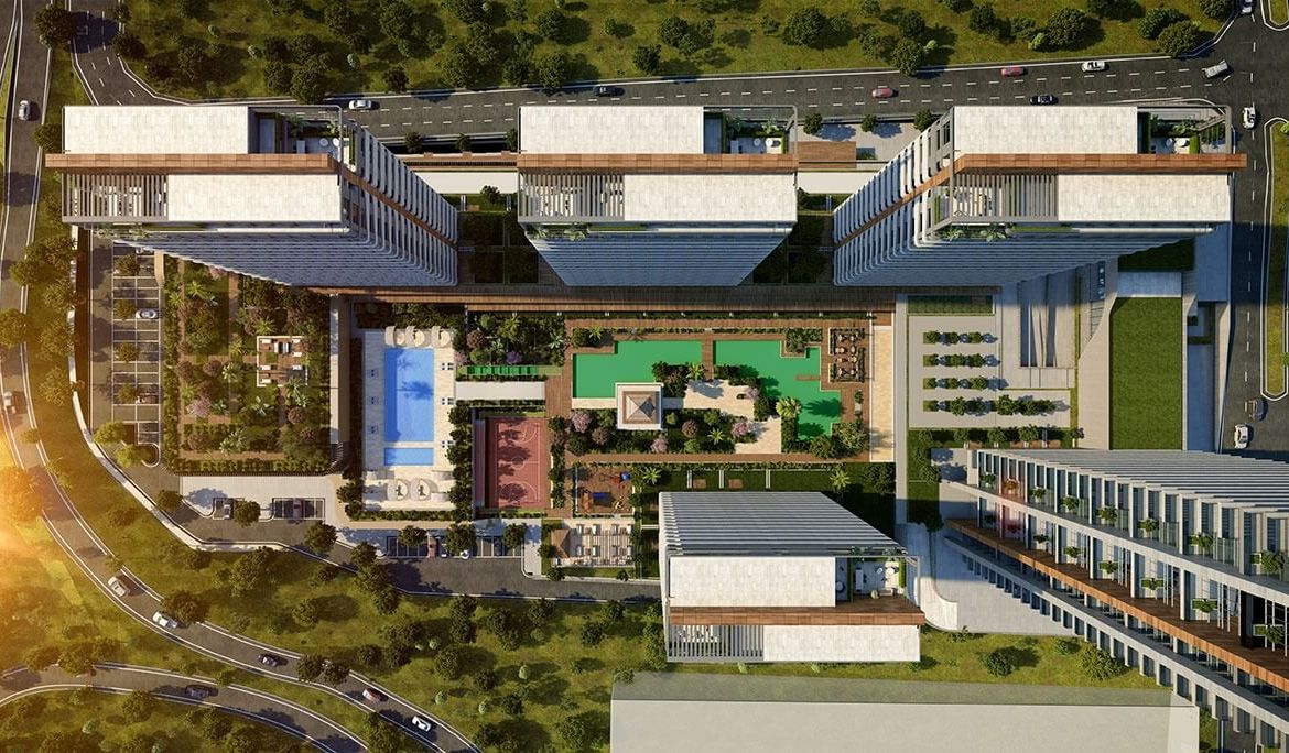 Luxury Residence for Sale in Istanbul, beylikdüzü, in very strategic location near to the E5 highway.