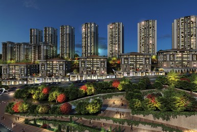 Ready to move project with super location and family concept big flats along with amazing view, all of that with good price