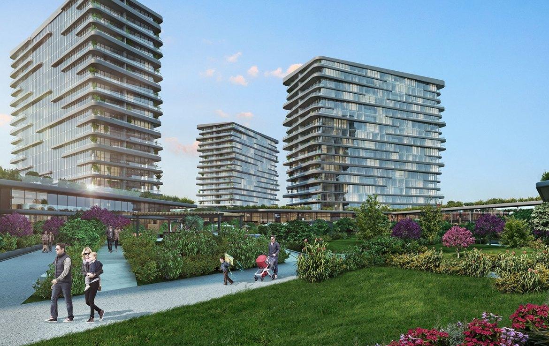 Luxury Properties for sale in Istanbul with full sea view شقق فخمة للبيع في اسطنبول مع اطلالة بحرية كاملة